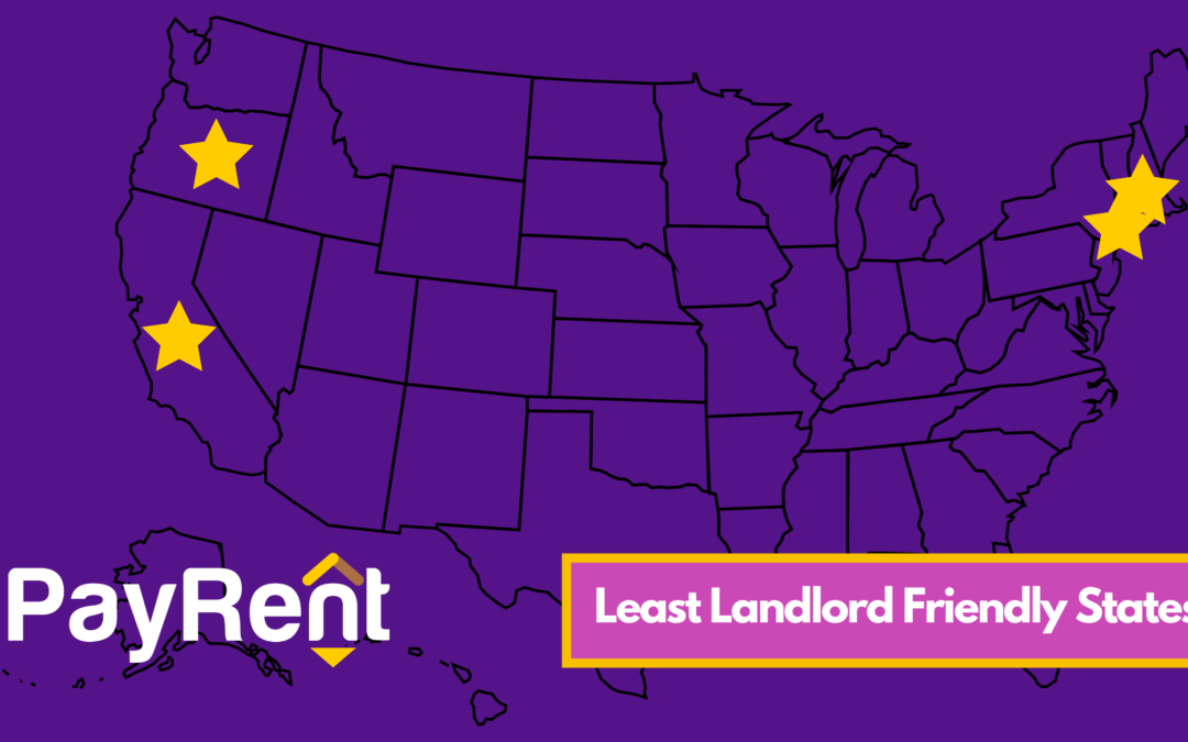 Least Landlord Friendly States